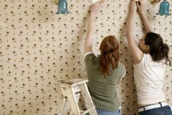 Removing Wallpaper Glue Residue From Walls