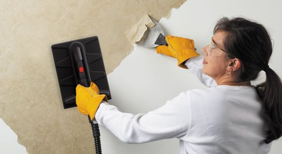 Removing Wallpaper Steamer