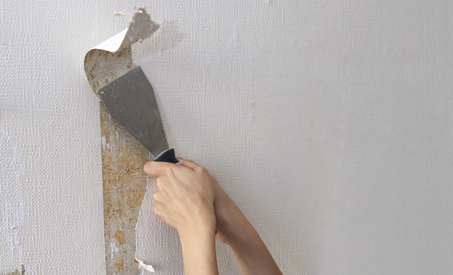 Removing Wallpaper To Paint