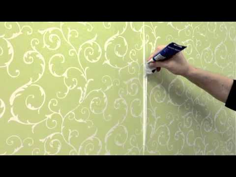 Repairing Wallpaper Seams