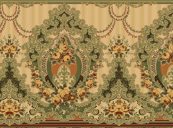 Reproduction Victorian Wallpaper