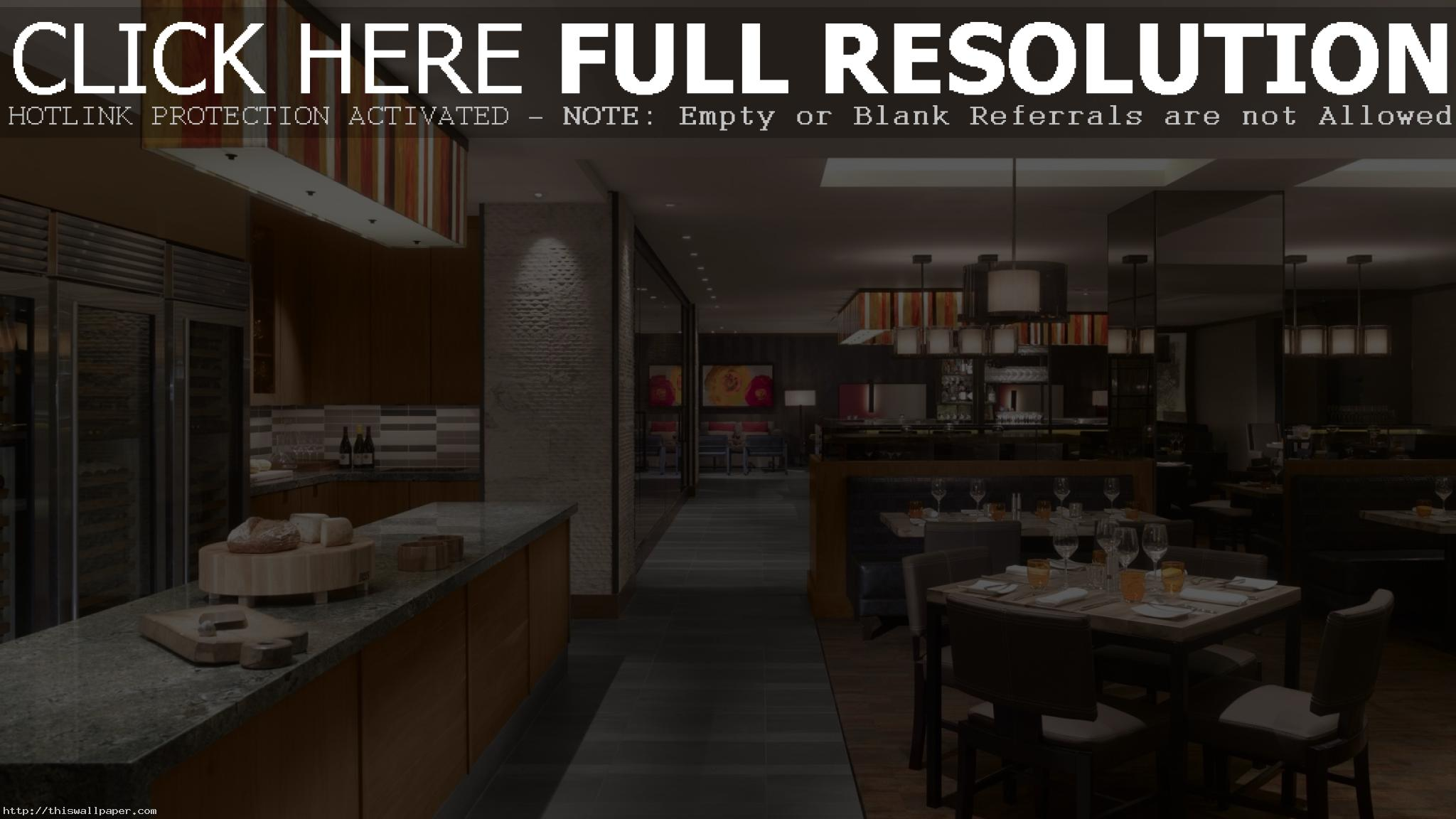 Restaurant Wallpaper HD
