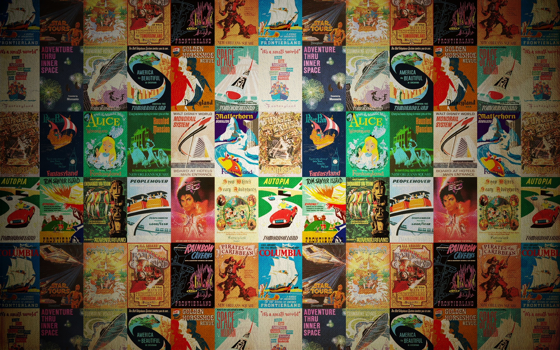 Retro Disney Wallpaper