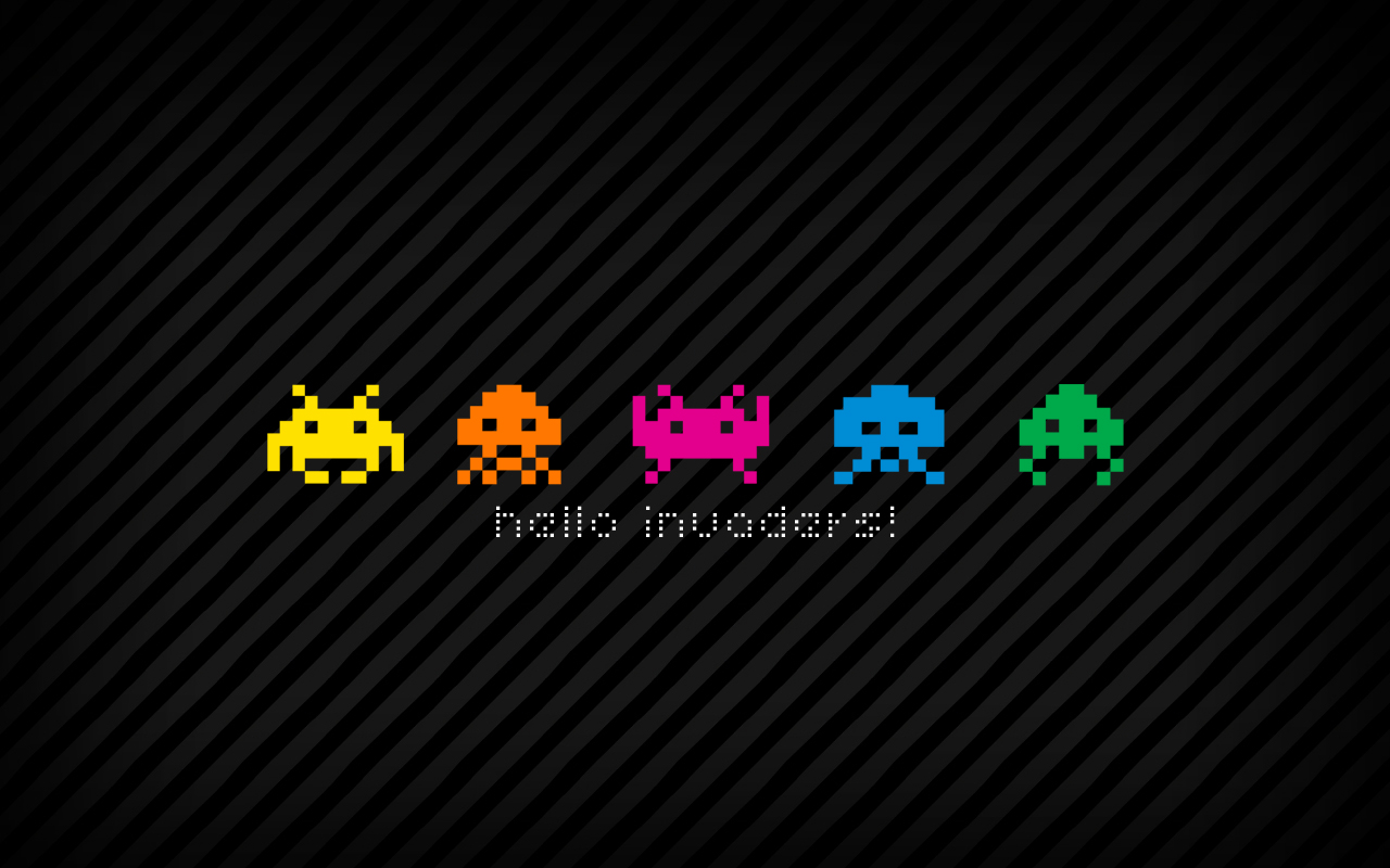 Retro Games Wallpaper