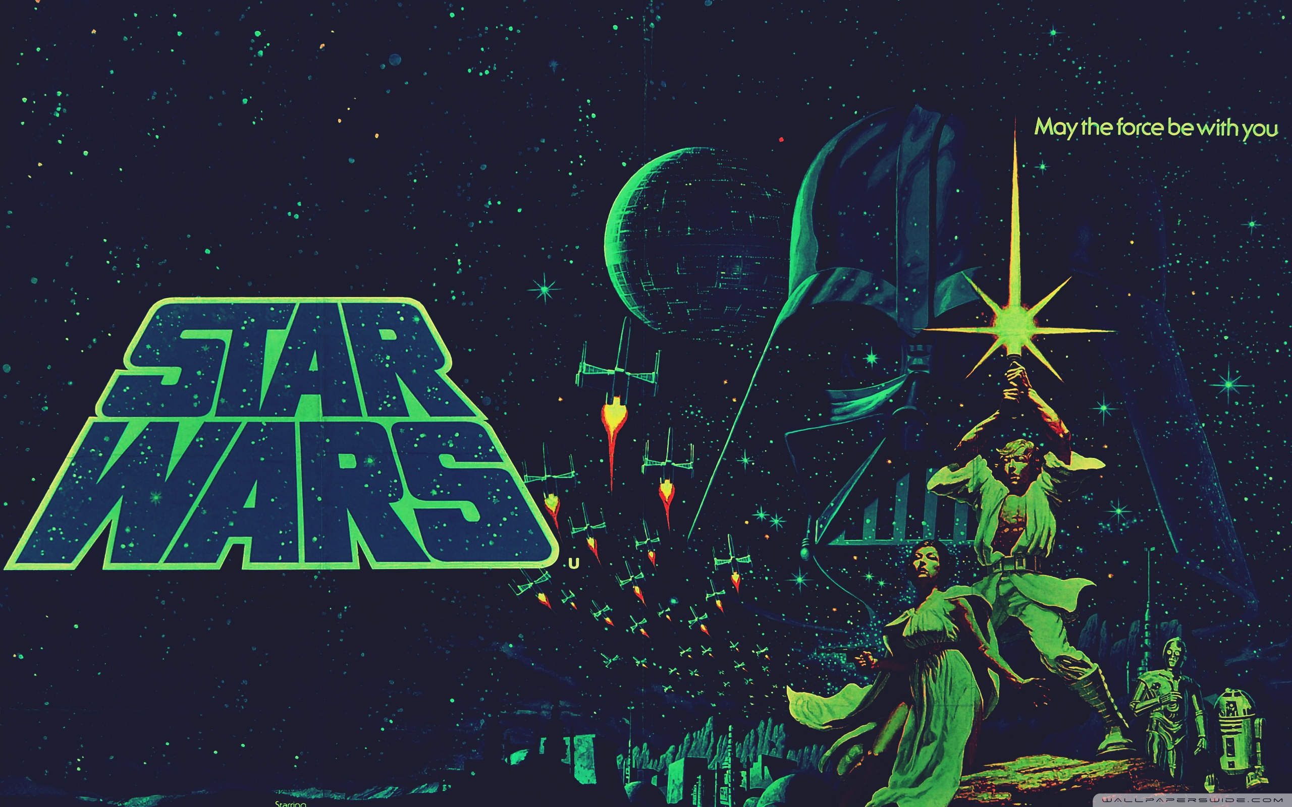 Retro Star Wars Wallpaper