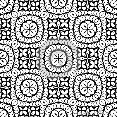 Retro Wallpaper Black And White