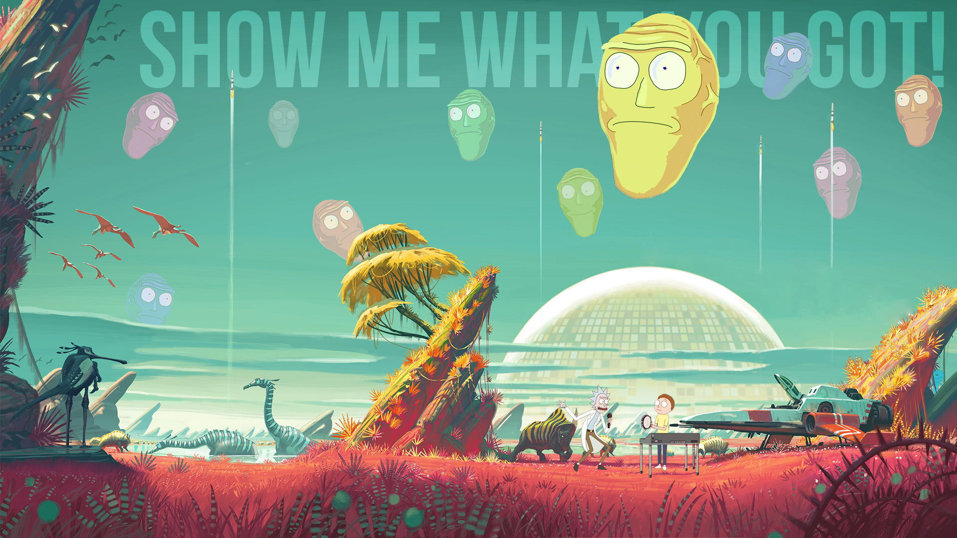 Download rick and morty wallpapers gallery - Rick and morty download ...