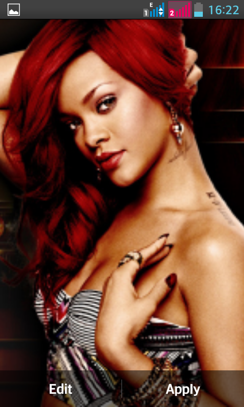 Rihanna Live Wallpaper