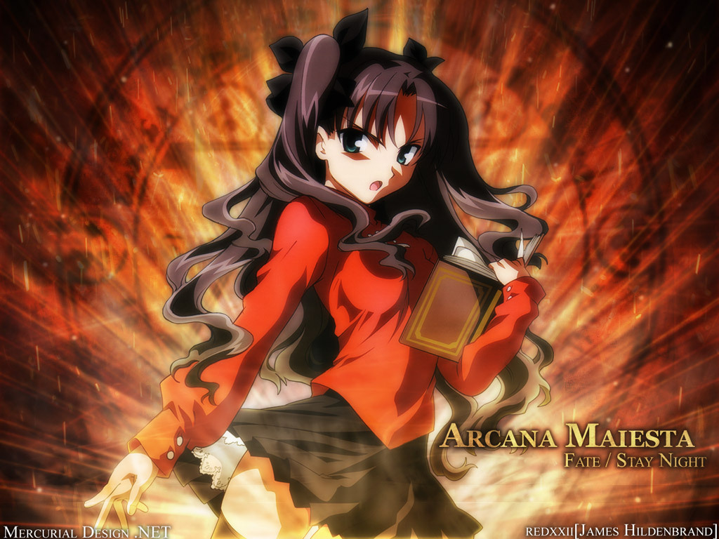 Rin Tohsaka Wallpaper
