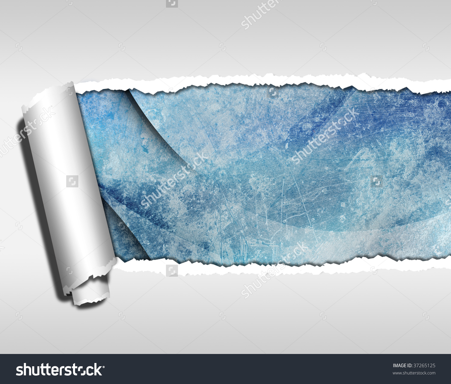 Ripped Paper Wallpaper