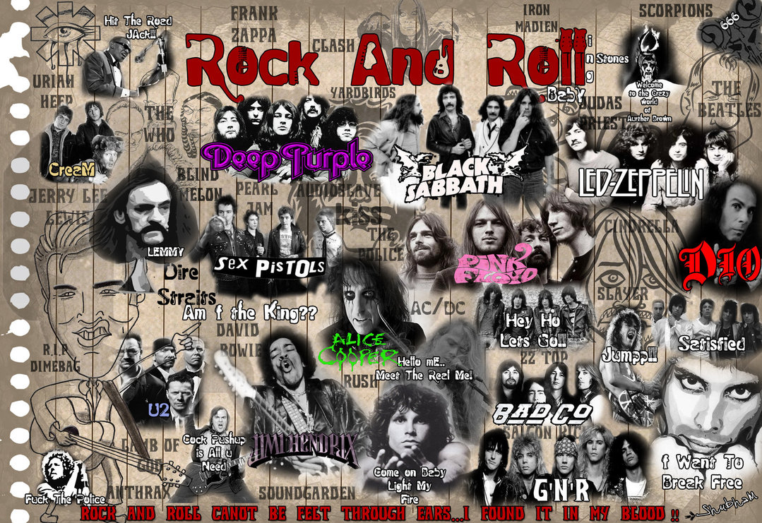 Rock And Roll Wallpaper