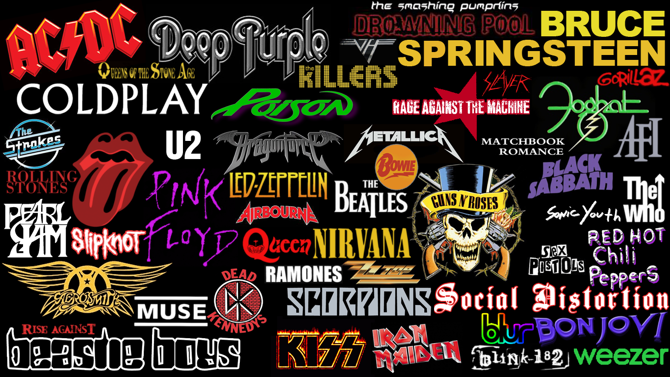 Rock Bands Wallpaper