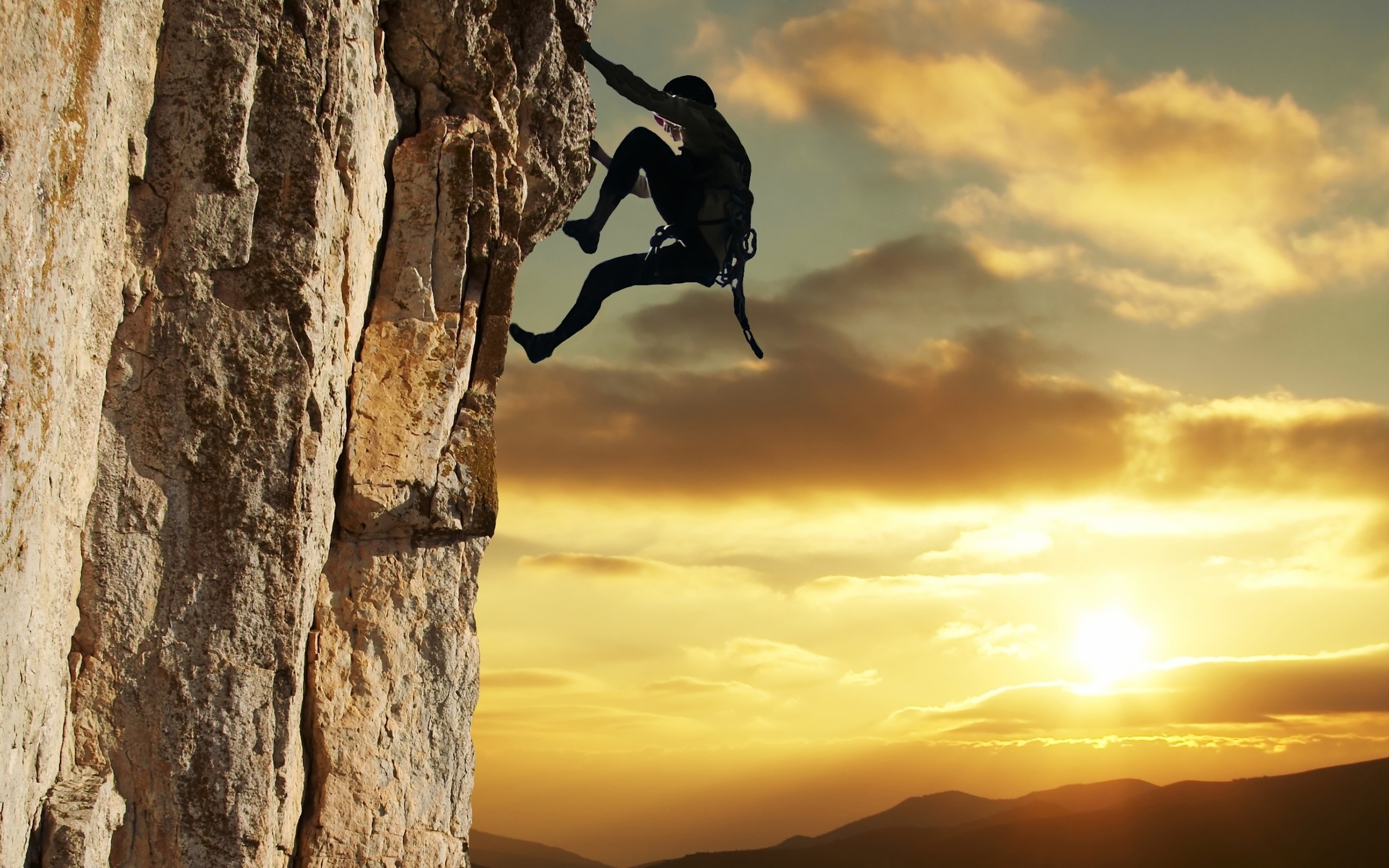 Rock Climbing HD Wallpaper