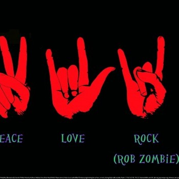 Rock Sign Wallpaper