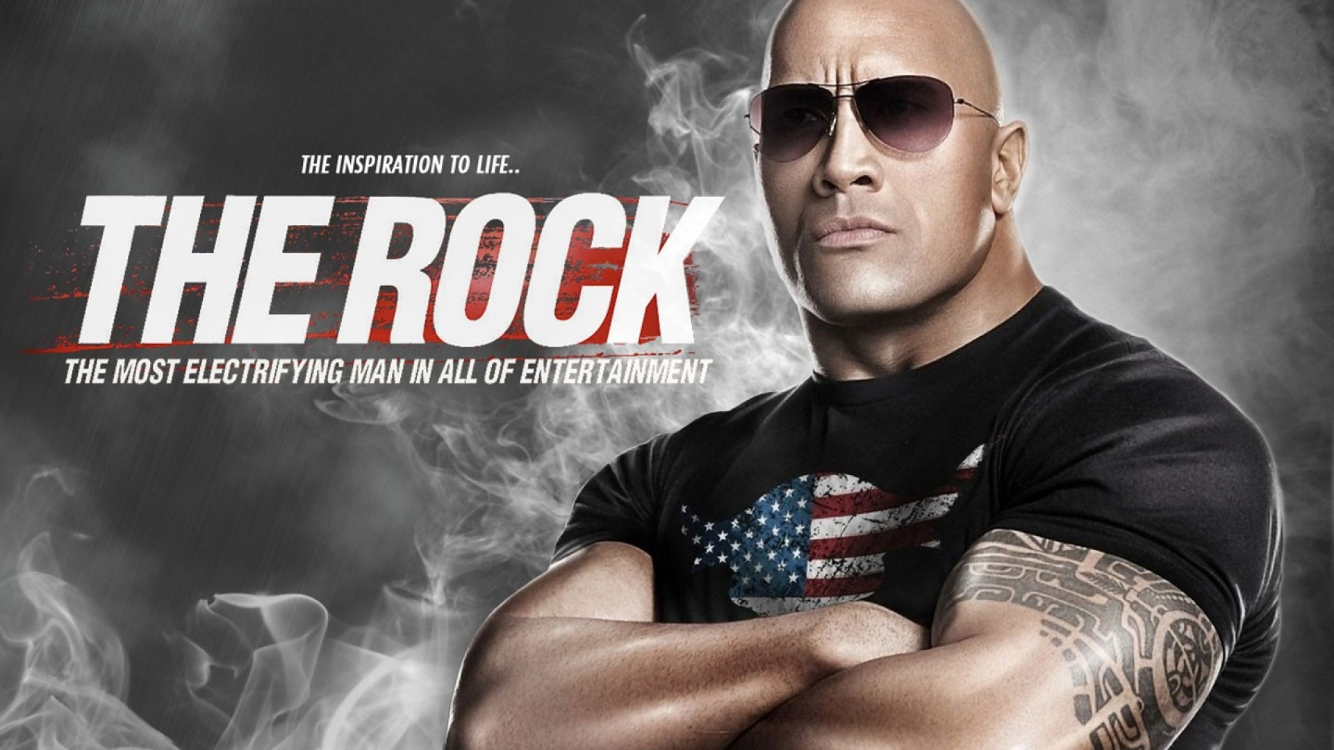Rock Wwe HD Wallpaper