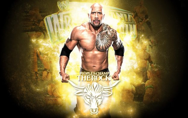 Rock Wwe Wallpaper HD