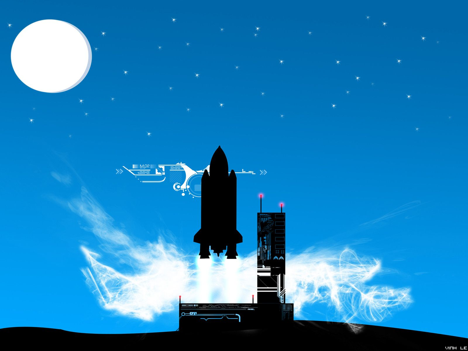Download Rocket Ship Wallpaper Gallery