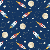 Rocket Ship Wallpaper