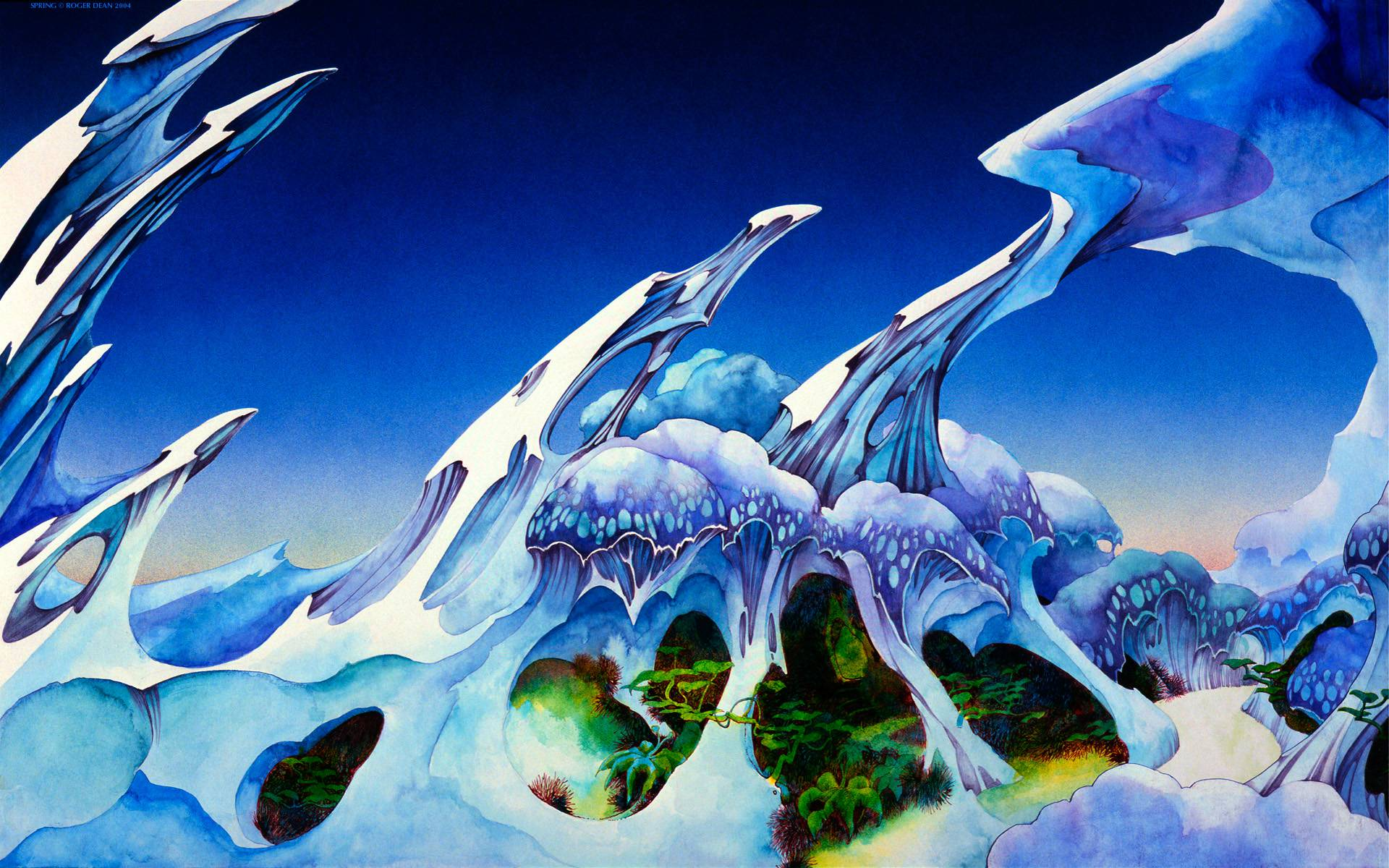 23 Wallpapers by Roger Dean  Wallpaper Abyss