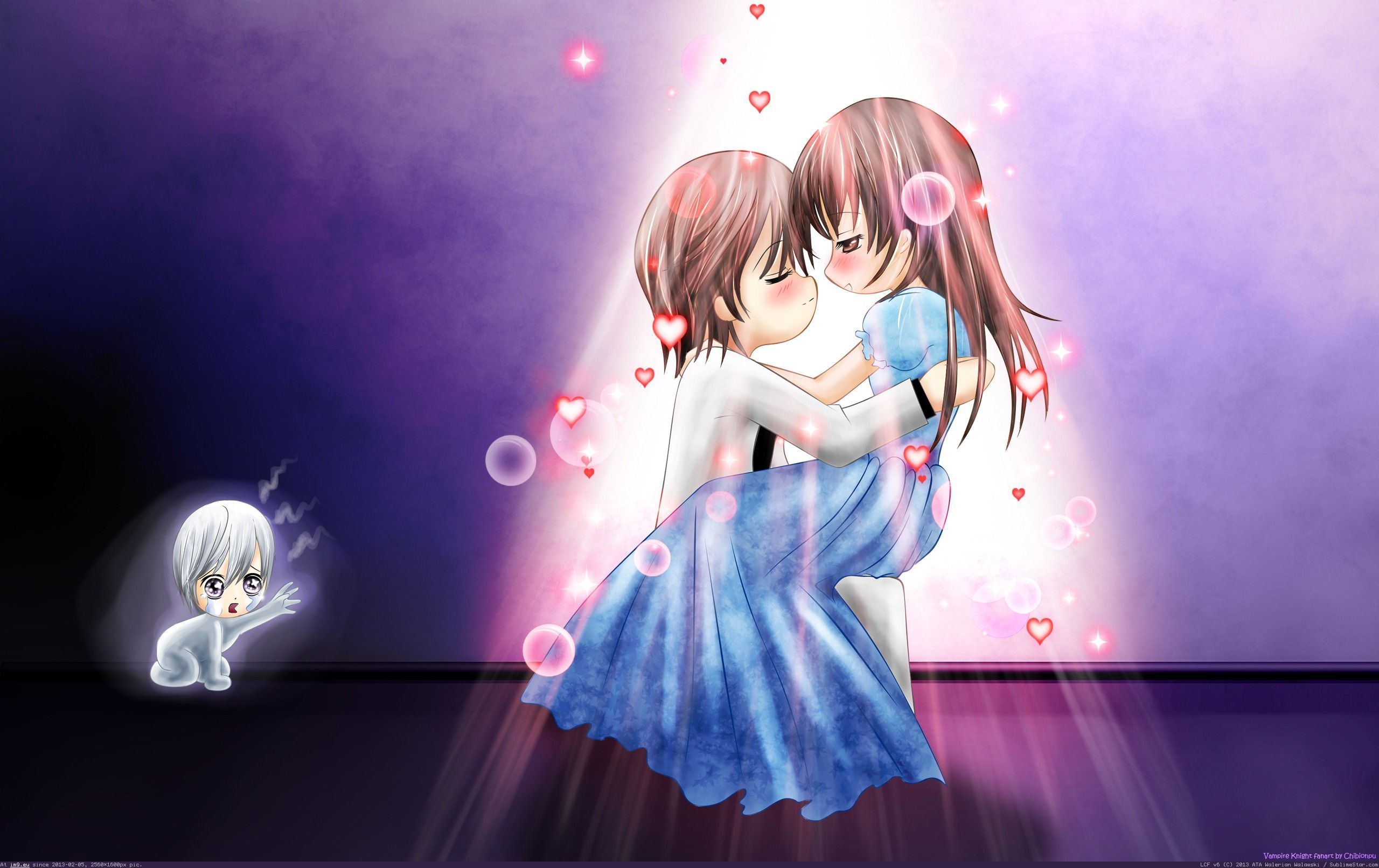 Romantic Animation Wallpaper