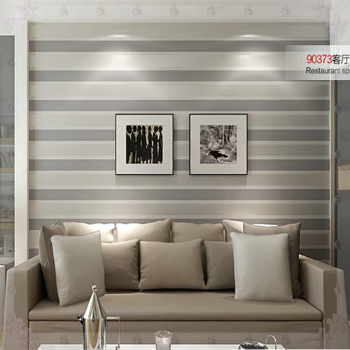 Rooms With Striped Wallpaper