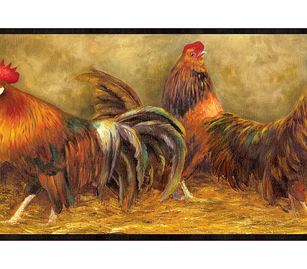 download rooster border wallpaper gallery