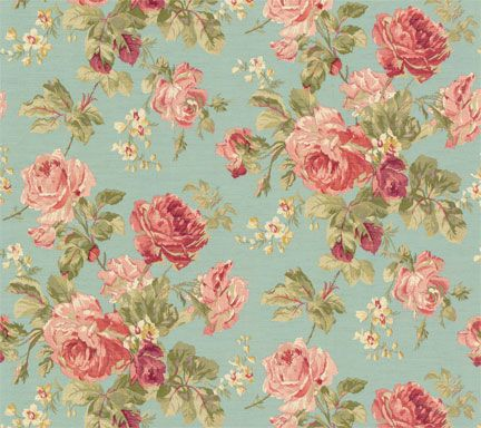 Rose Pattern Wallpaper