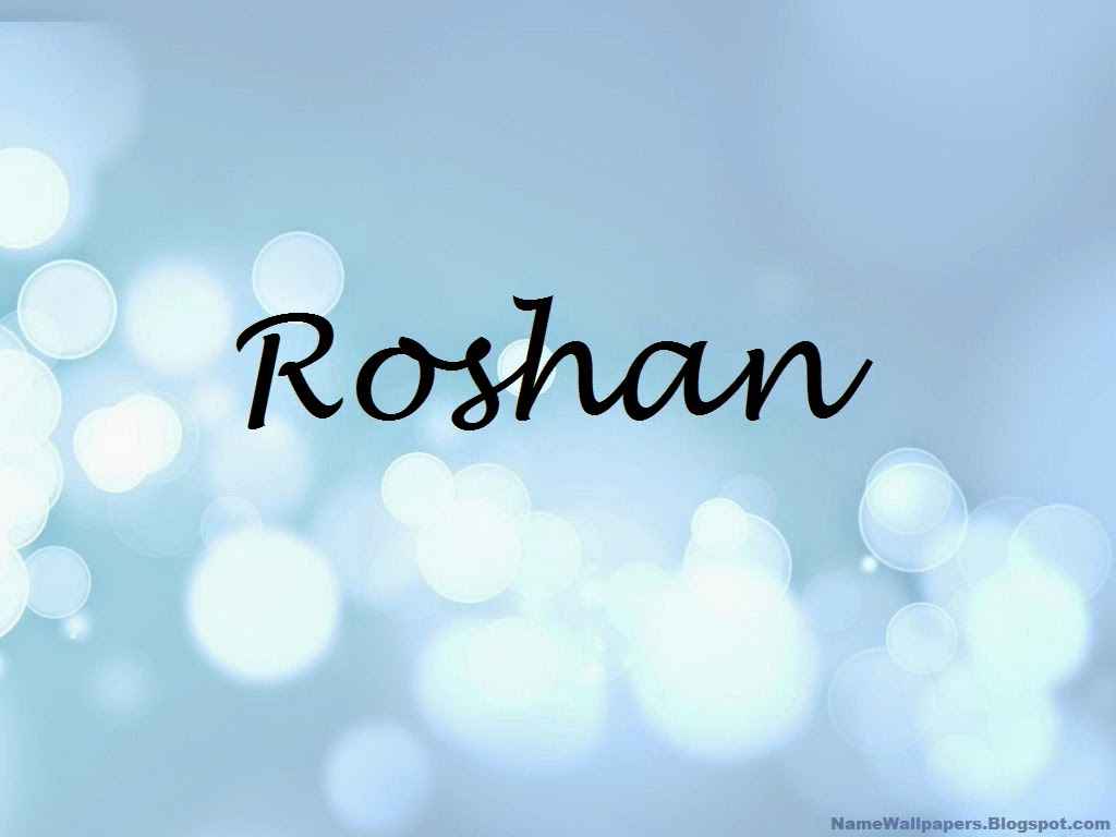 Roshan Name Wallpaper