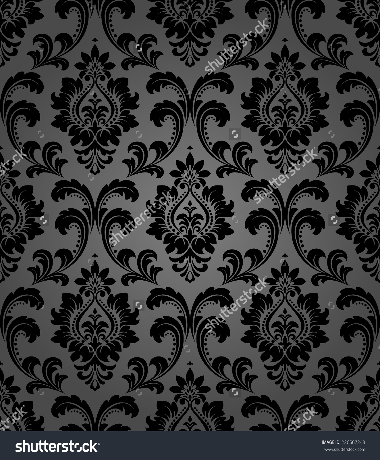 Royal Black Wallpaper