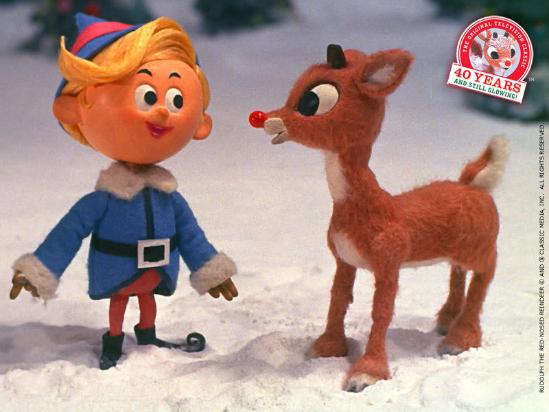 Rudolph The Red Nosed Reindeer Wallpaper