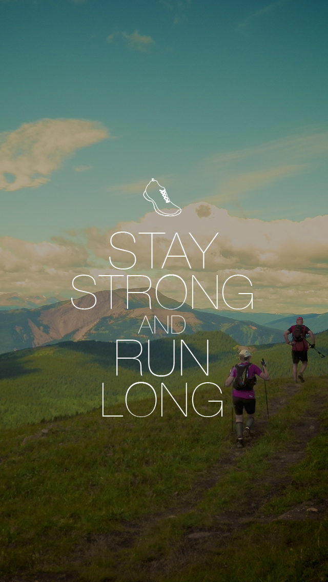Running Iphone Wallpaper