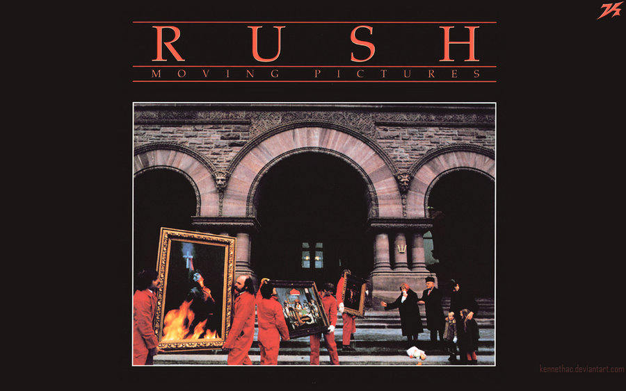 Rush Moving Pictures Wallpaper