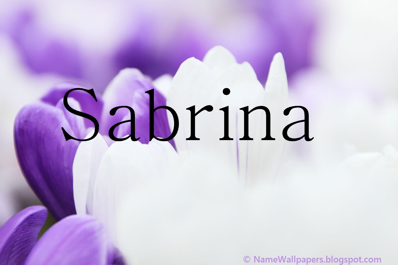 Sabrina Name Wallpaper