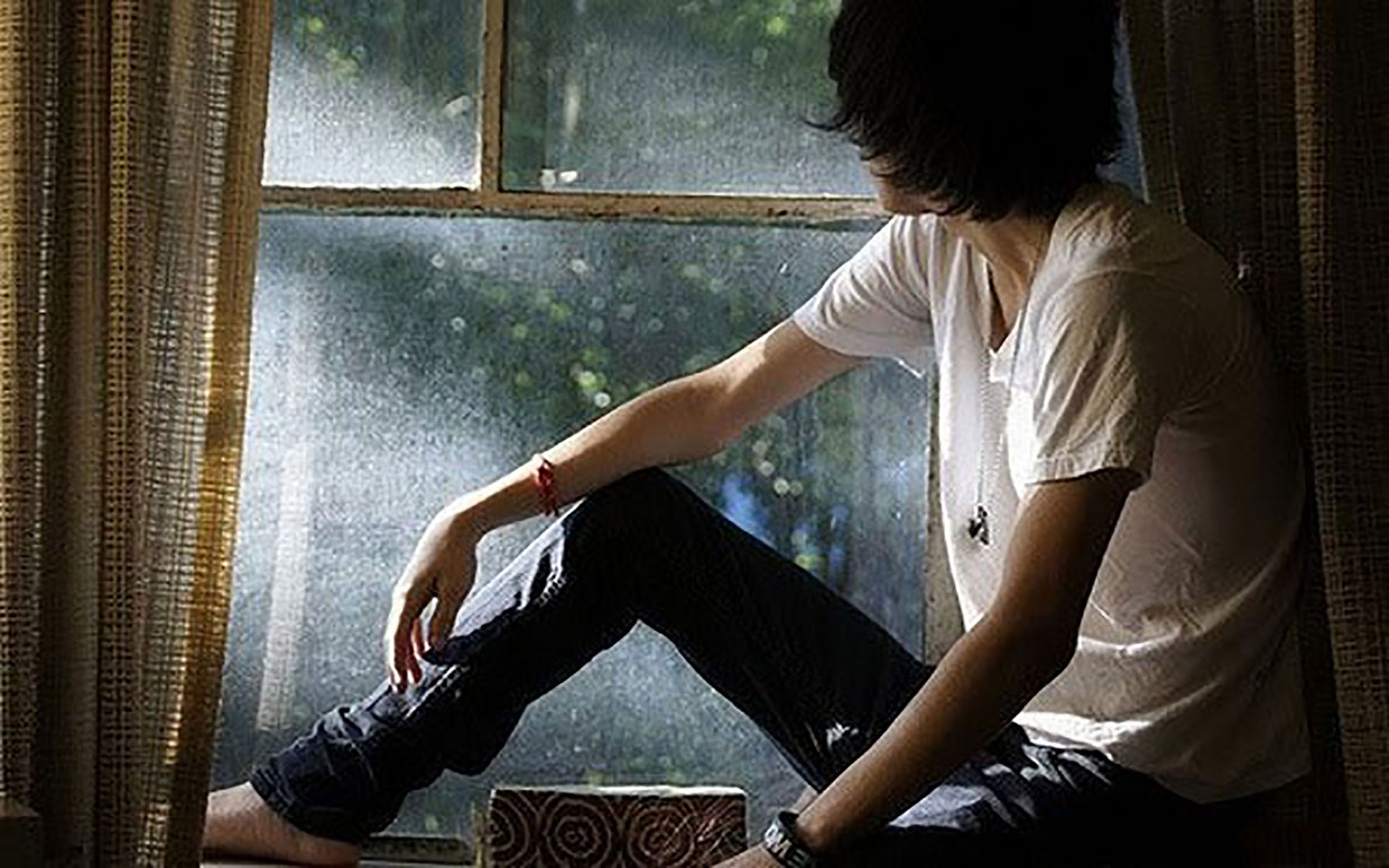 Download Sad Alone Boy HD Wallpapers Gallery