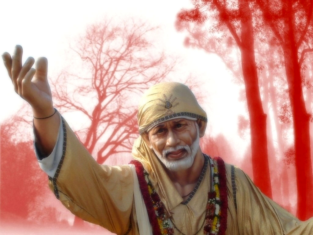 Download Sai Baba Latest Wallpapers Gallery: Download Sai Baba Wallpaper 3D Download Gallery