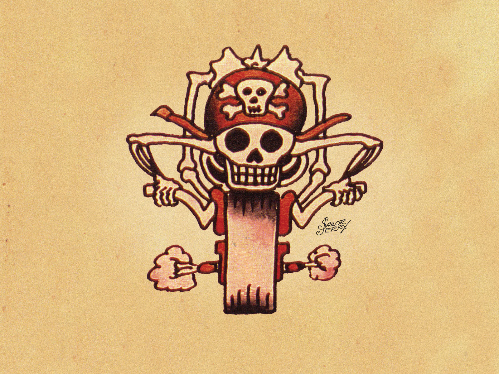 Sailor Jerry Tattoo Wallpaper