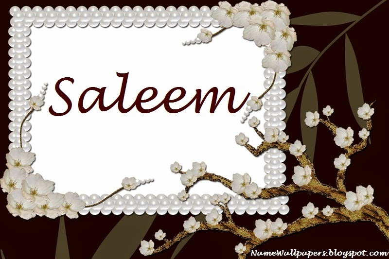 Saleem Name Wallpaper