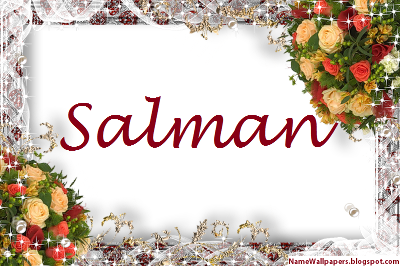 Salman Name Wallpaper HD