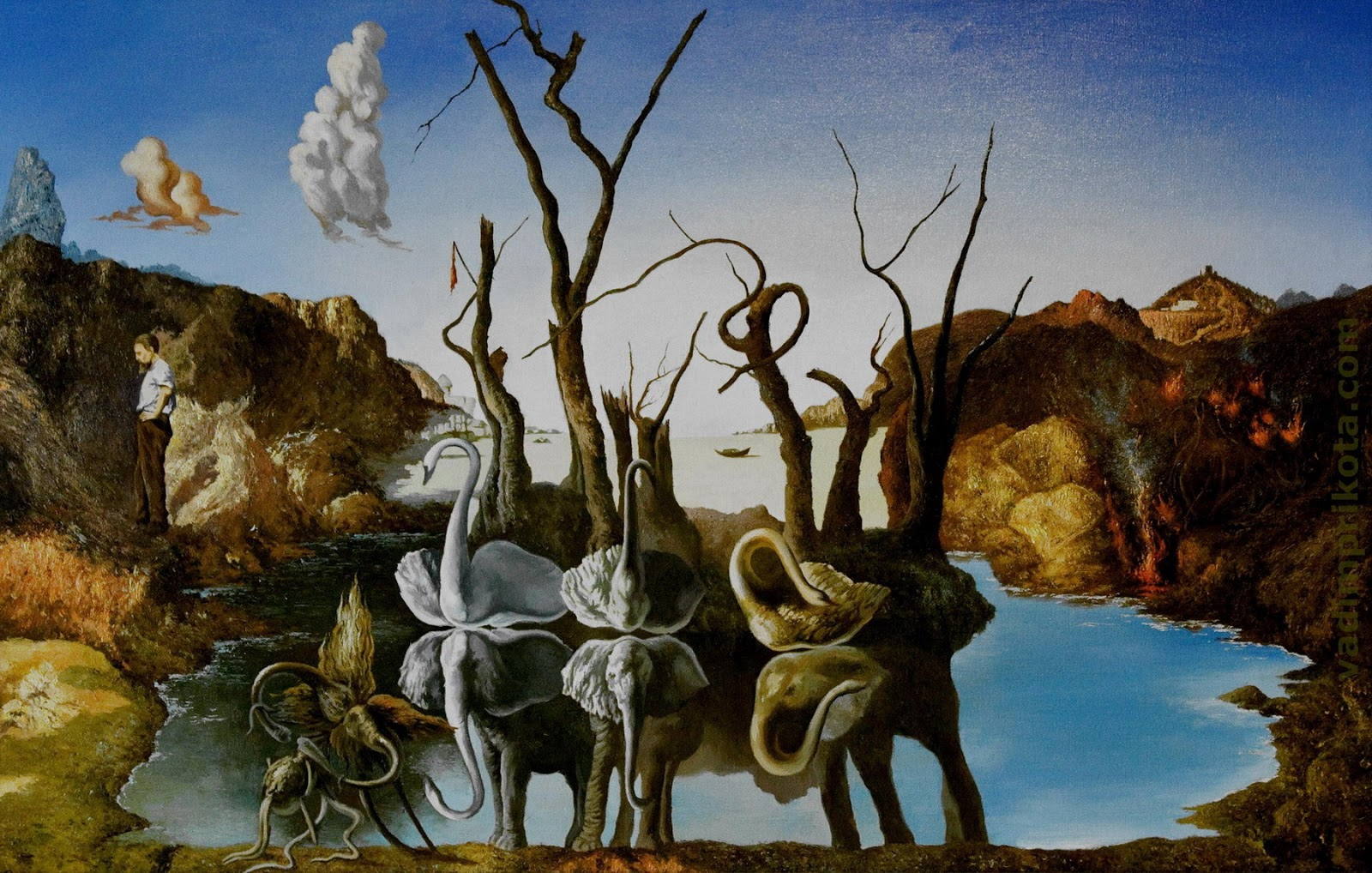 salvador dali paintings wallpapers gallery