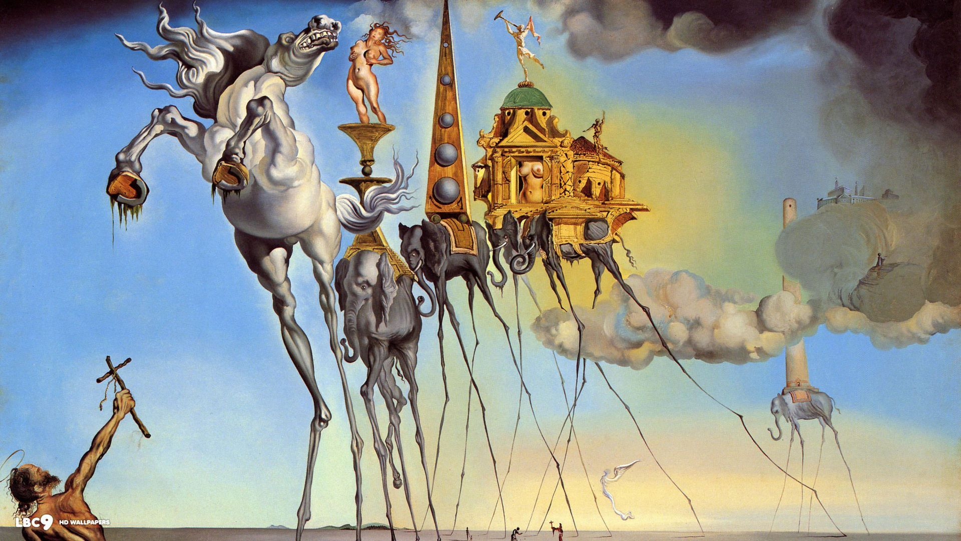 Salvador Dali Paintings Wallpapers