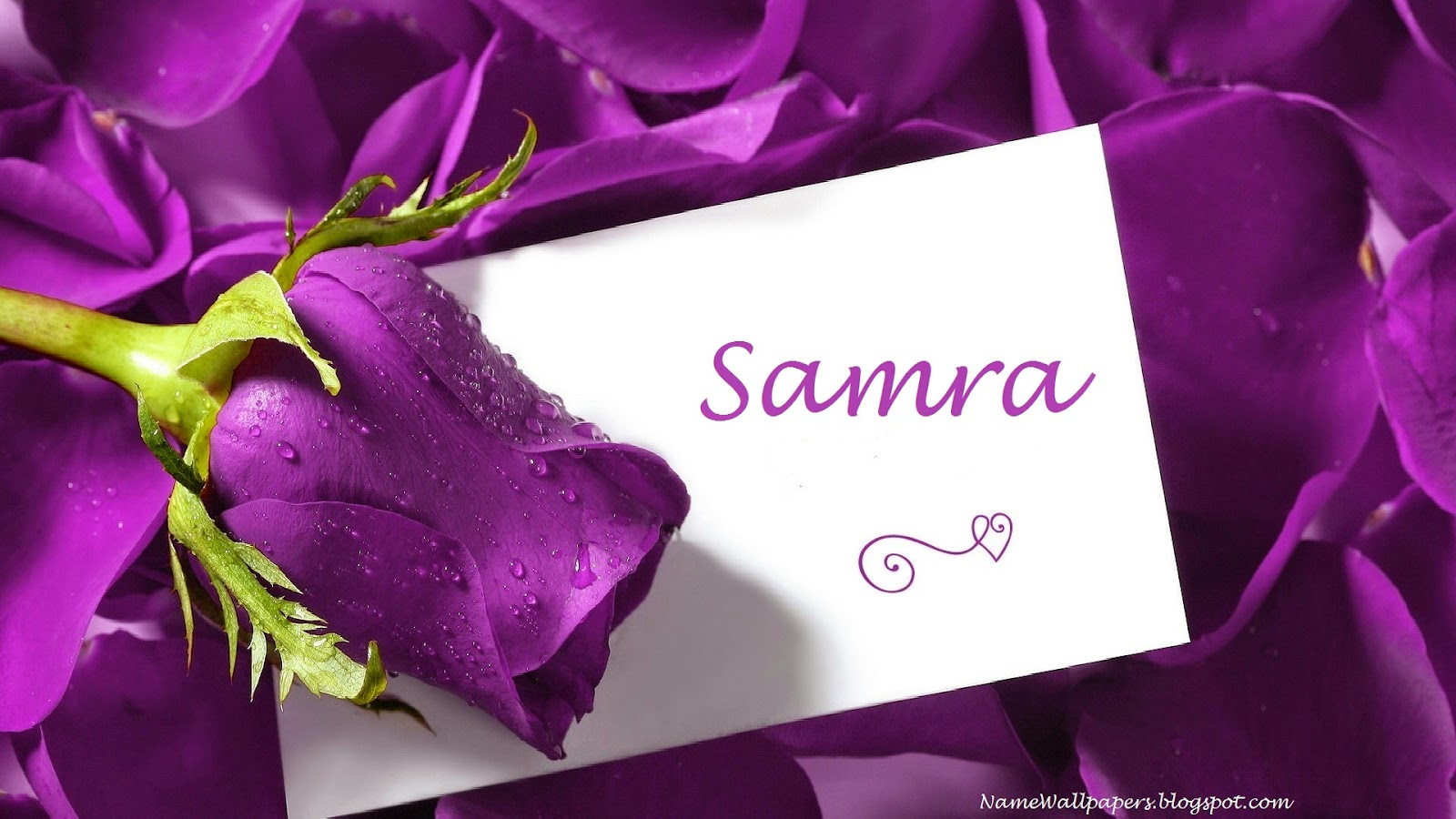 Samra Name Wallpaper
