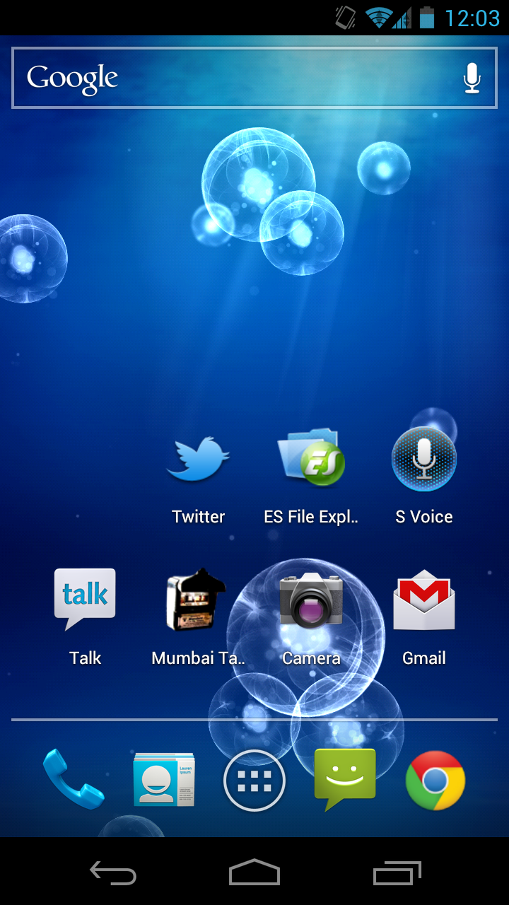 Samsung Galaxy S3 Live Wallpaper