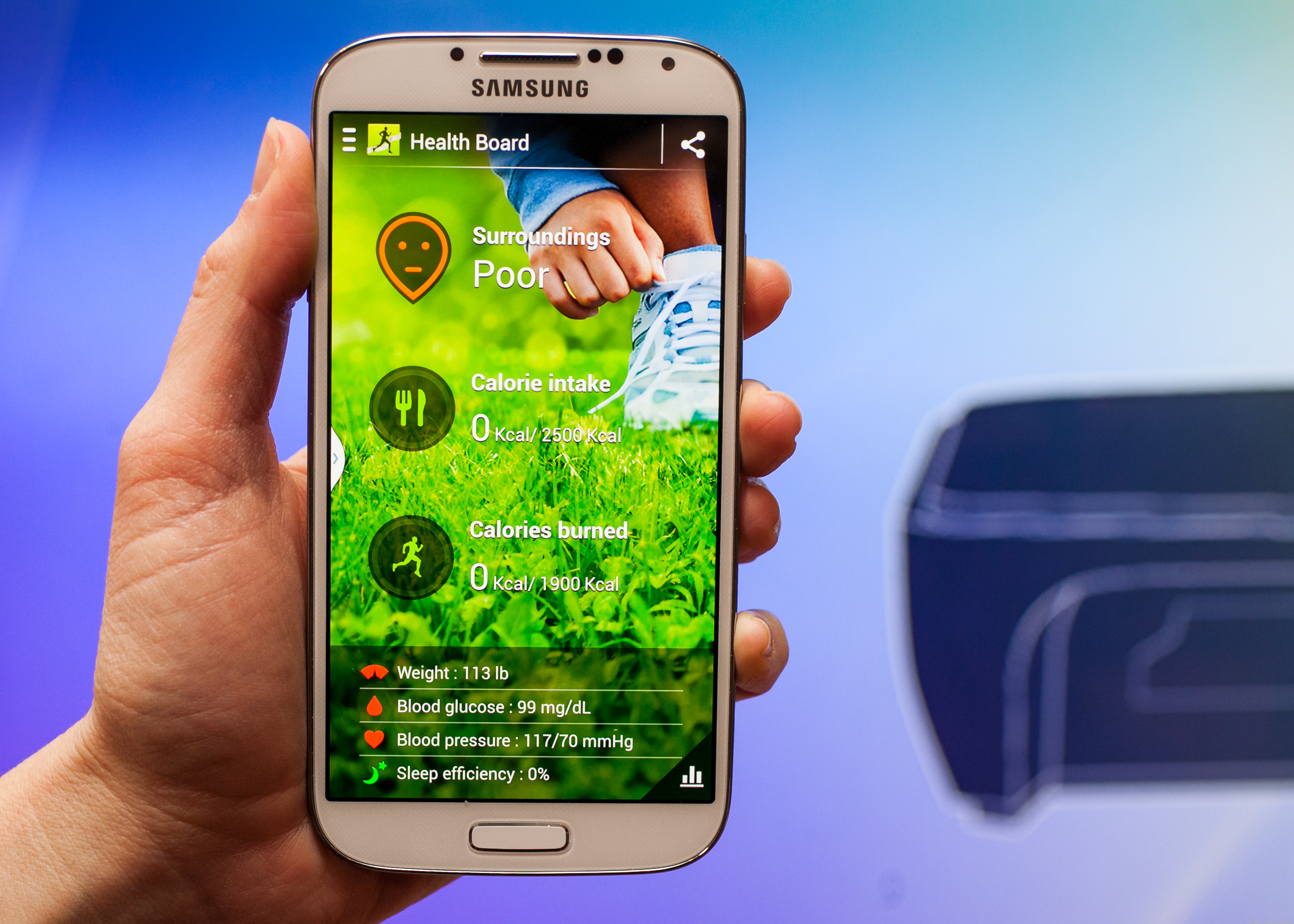 Samsung Galaxy S4 Wallpaper App