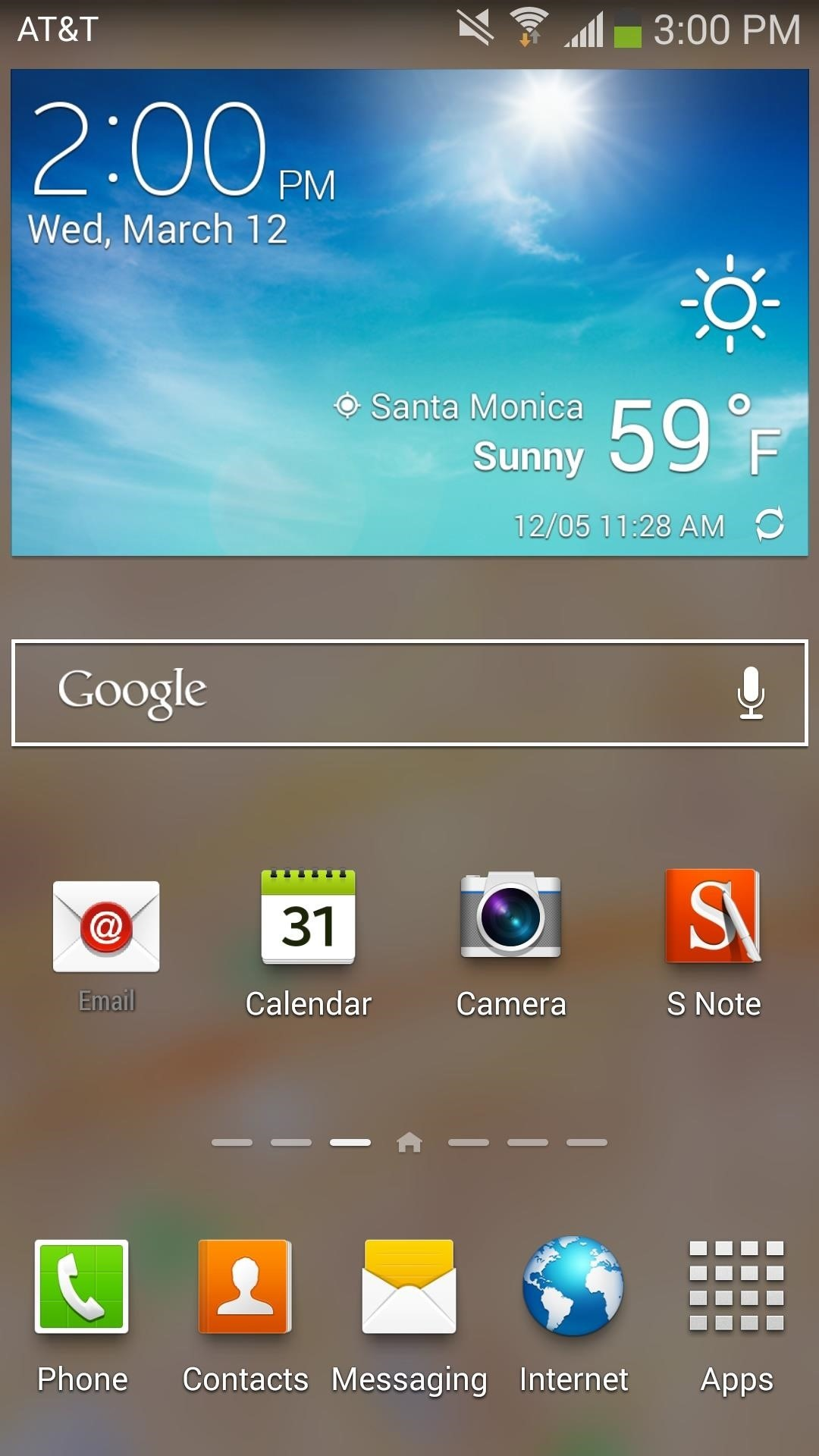 Samsung Weather Live Wallpaper