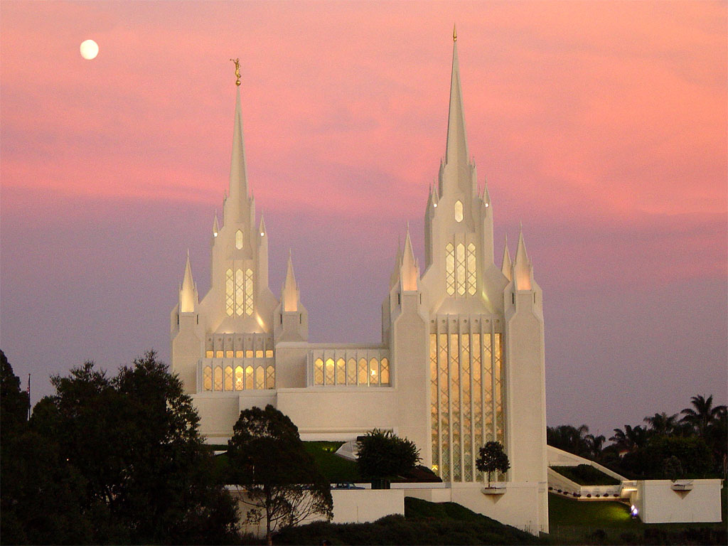 San Diego Temple Wallpaper