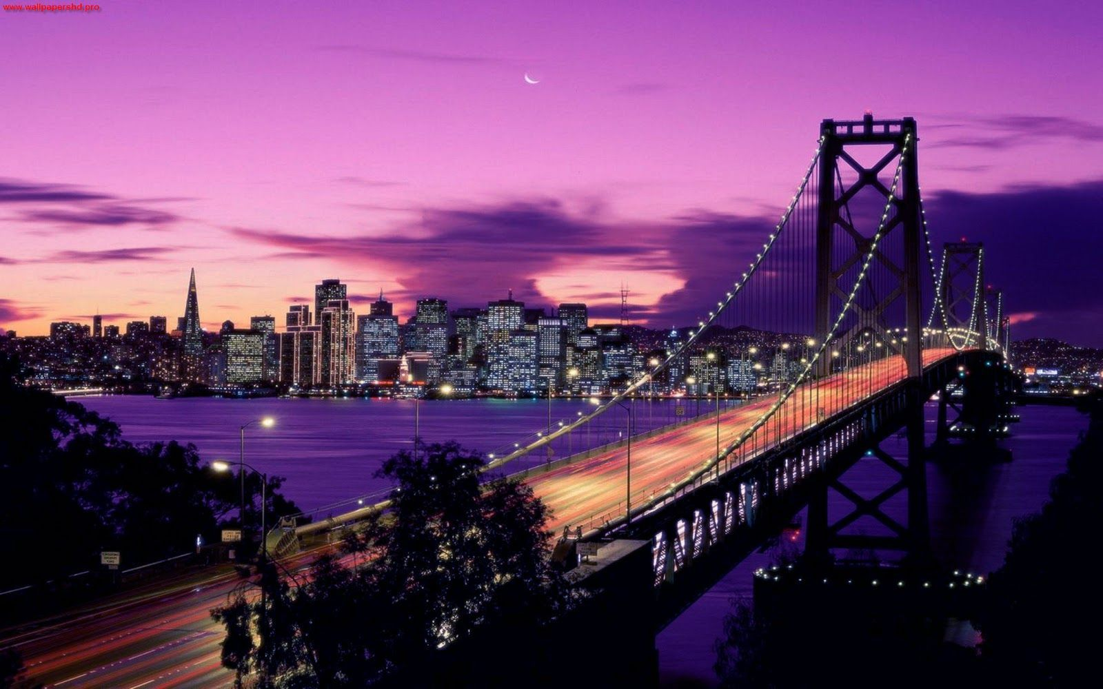 Download San Francisco At Night Wallpaper Gallery