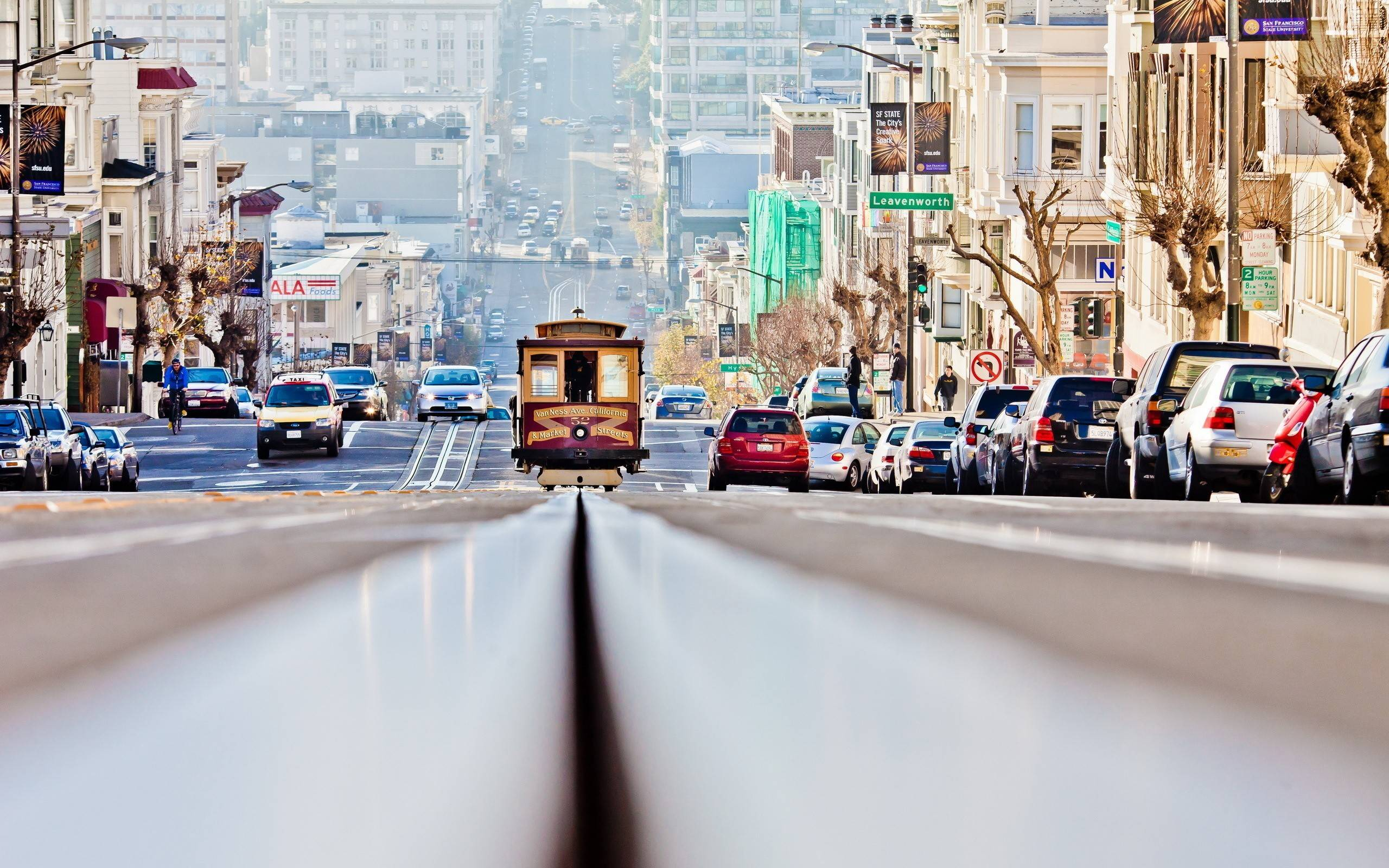 San Francisco Street Wallpaper