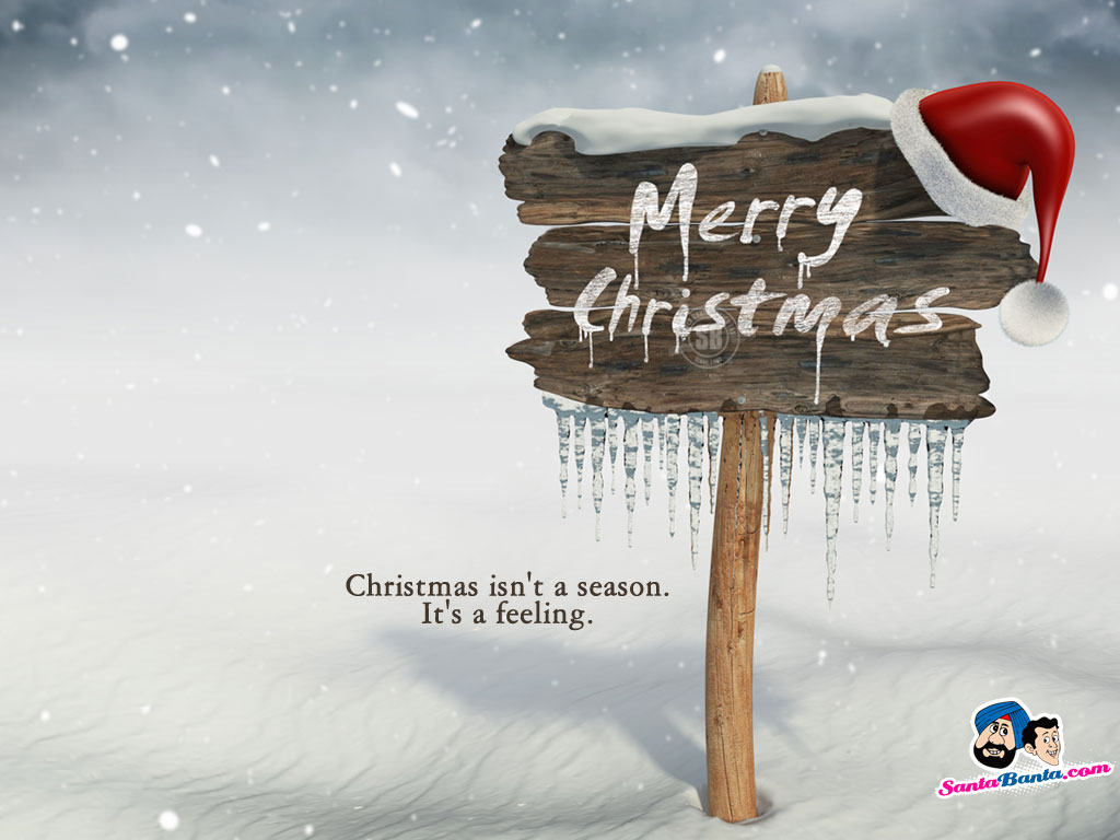 Santa Banta Christmas Wallpapers