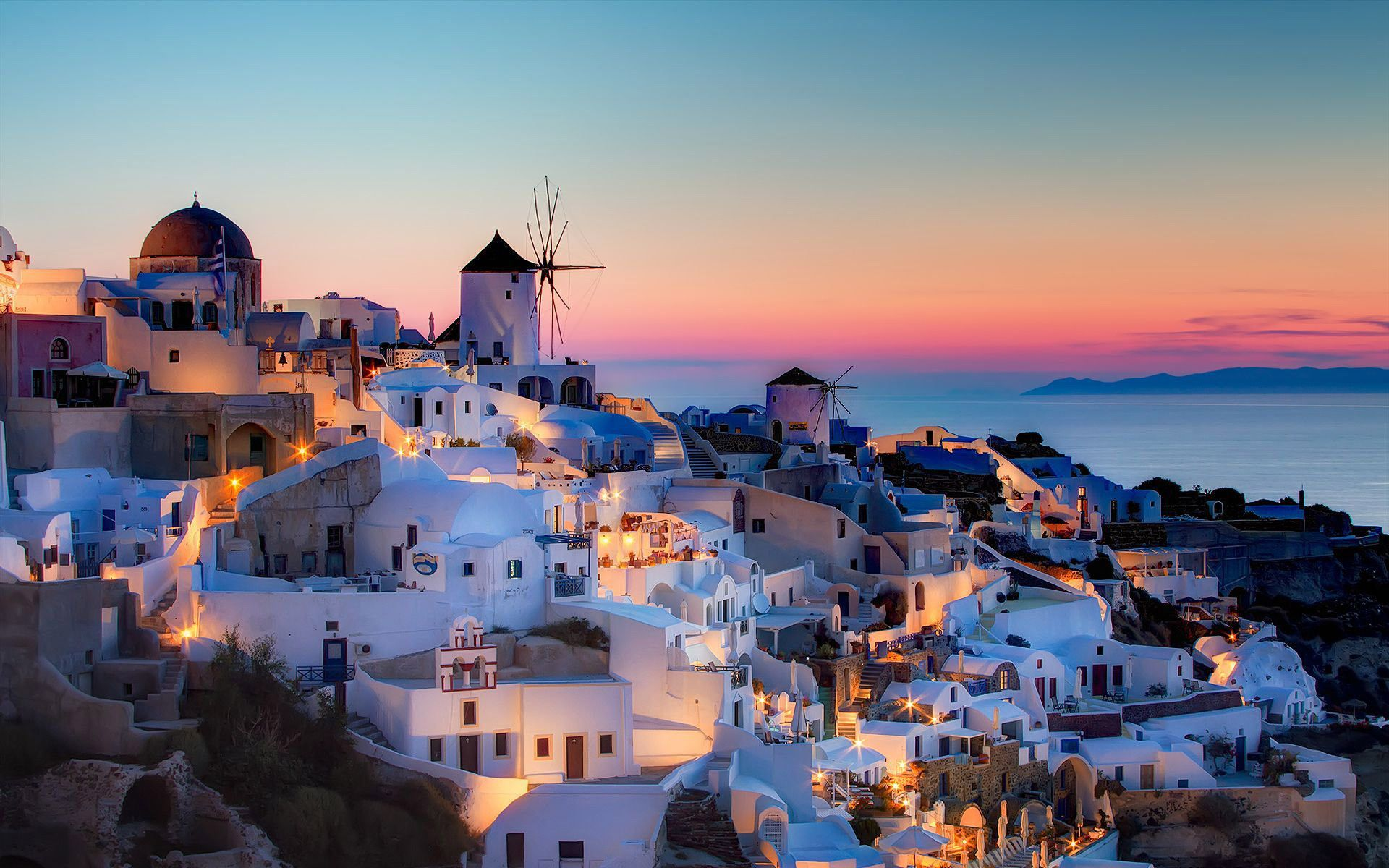 Santorini Wallpaper