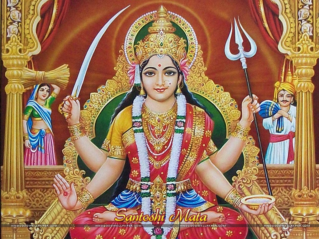 Santoshi Mata Wallpaper Free Download